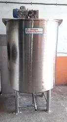 Stainless Steel mixing Tank unit