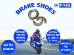 Hilex Activa New/ Shine Brake Shoes