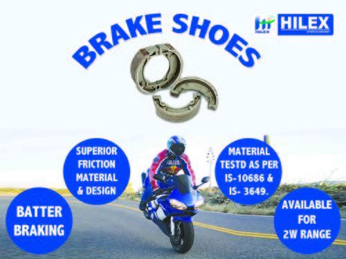 Brake Shoes for Automobile Industry - Hilex Caliber/ Platina