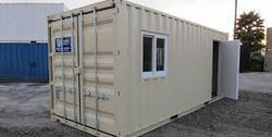 Mild Steel Modular Portable Office Containers