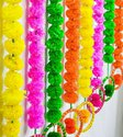 Artificial Marigold Flower Strings With Bangles