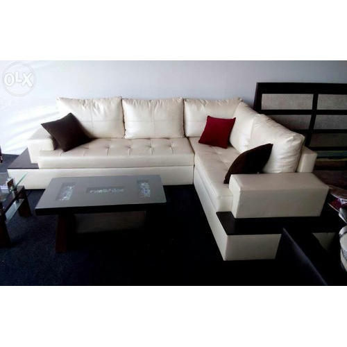 L Shape Sofa At Rs 30000 Set Moshi Pune Id 16470708662