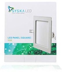 SYSKA 15 WATT LED DOWNLIGHTS (Square)