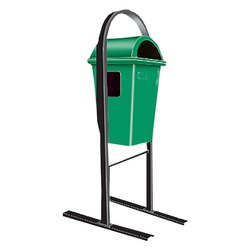 Pole Mounted Dustbin
