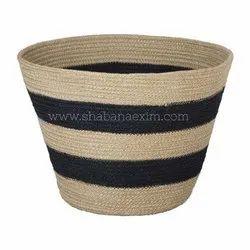 High Quality Jute Kitchen Foldable Storage Baskets