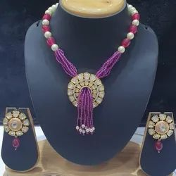 Party Wear Kundan Necklace