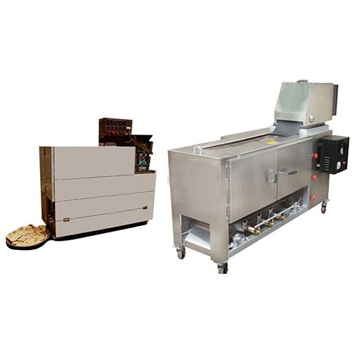 YR Semi Automatic Chapati Making Machine