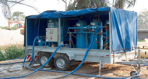 Mobile Water Treatment Unit, Water Purification For Drinking, | ID:  4892711273