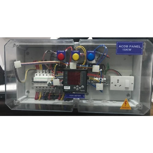 15 KW Three Phase Solar ACDB Panel, IP Rating: IP54, IP55, IP65