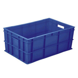 Injection Moulded Crates with Handle