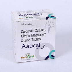 Calcium Citrate & Calcitirol & Zinc Tablets