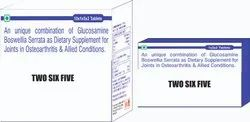 An Unique Combination of Glucosamine Boswellia Serrata As Dietary Supplement for Joints