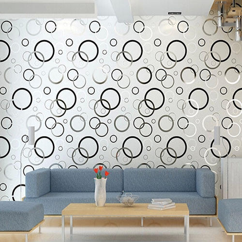 Modern Textured Decorative Wallpaper