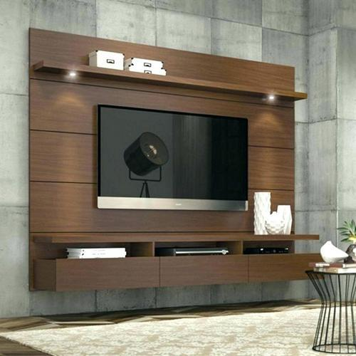 ply board mdf wall mounted designer lcd tv unit rs 800 square feet rh indiamart com