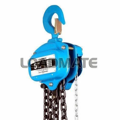 Chain Pulley Blocks - Block Chain Hoist Manufacturer from Surat