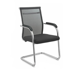 Medium Back Black Mesh Chair