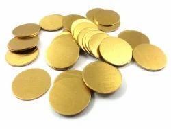 Golden Brass Circles