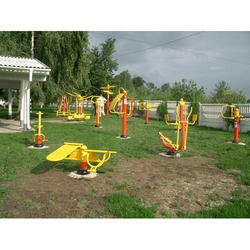 Steel Outdoor Gym Equipment