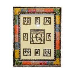 Dhokra Painting Decorative Wall Hanging