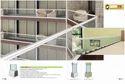 Sweep Aluminium Glass Railing