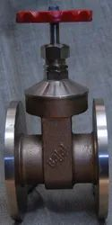 Bajaj Bronze Gate Valve Flanged Ends, Size: 15 Mm - 100 Mm