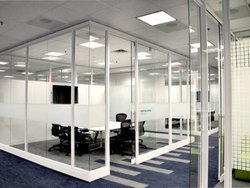 UPVC Glass Partition