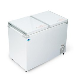 White Celfrost Deep Freezer Chest Freezer 400 Ltr