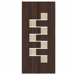 Wood Hinged Security Door for Home, Size: 7 x3 Feet