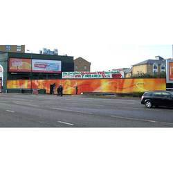 Printed Building Hoarding Service