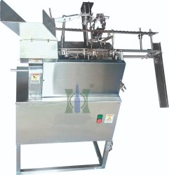 Single Head Onion Skin Tube Filling And Sealing Machine