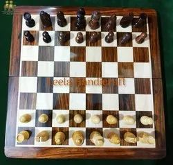 Bordered Stone Chess Board