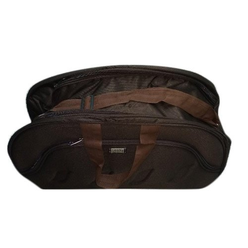 Brown Canvas Casual Folding Duffle Bag