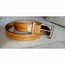 Mens Brown Fancy Belt