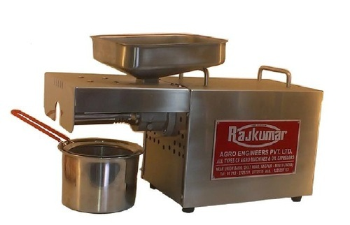 Domestic Oil Expellers - Rajkumar Kitchen Model Oil Expeller