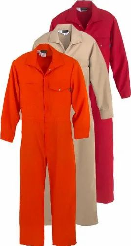 Cotton SafeCare SC001C001 Plain Industrial Coverall, For Safety Purpose, |  ID: 21644803797
