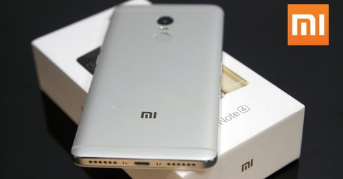 Gold Xiaomi Redmi Note 4 Refurbished Mobile (Only Mobile), Memory Size: 4 GB