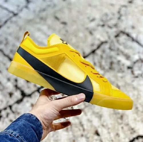 Nike Blazer Shoes Yellow Canvas Nike Lab Blazer Shoes, Size: Uk/In 7-10 (Eu 41-45 ...