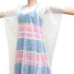 PE Plain Salon Disposable Gown, Size: Large