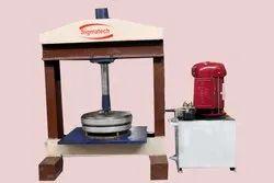 Hydraulic Rinkle Plate Thali Making Machine
