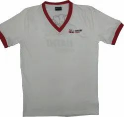 Mens White Promotional T-Shirt