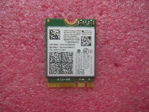 Lenovo Thinkpad Laptop Wireless Wlan Wifi Card Ac7260