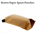 Brown Paper Spout Pouches