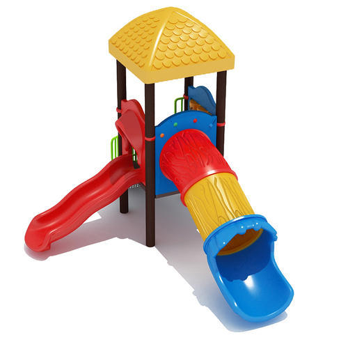PVC And Stainless Steel AKPL 01 Outdoor Playground Equipment   Kids Range