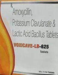 Amoxycillin potassium 500 clavulanic 125 LB 60  Tablet