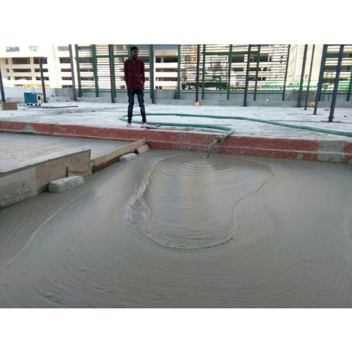 10764 Sq Ft Roof Lightweight Concrete Service In India Rs 7500