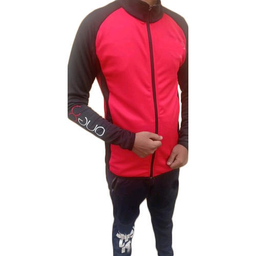 Mens Red Casual Wear Jacket, Size: S - XL