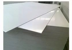 VTS White PVC Board Sheet, Thickness: 1 to 2 mm, Size: 122*244cm