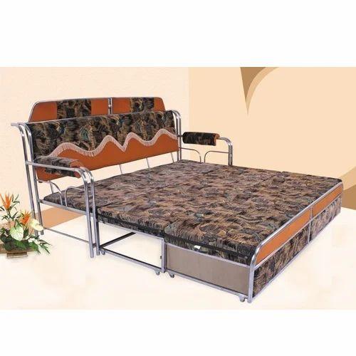 Stainless Steel Sofa Cum Bed At Rs 12000 Piece Sakinaka Mumbai