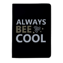 Ayre Black Pu Leatherite Notebook Fancy A5 Diary
