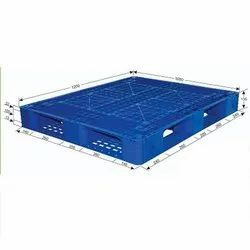 Blue NR Plastic Pallet for Export
